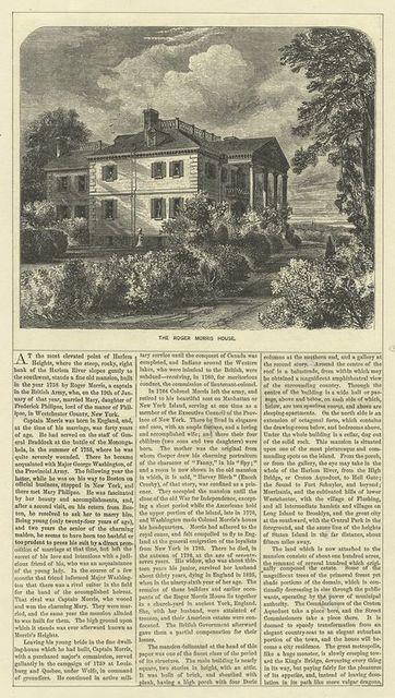The Roger Morris House