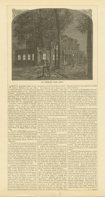 Van Rensselaer House, Albany