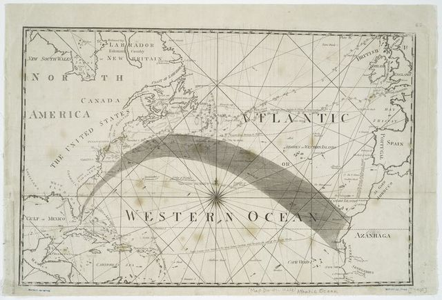 [A Chart of the Atlantic or Western Ocean]