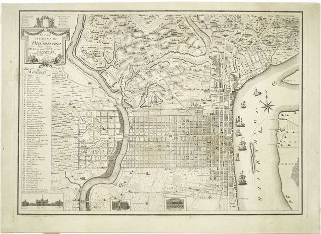 To the citizens of Philadelphia this new plan of the city and its environs....