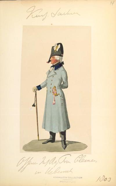 Germany, Saxony, 1803