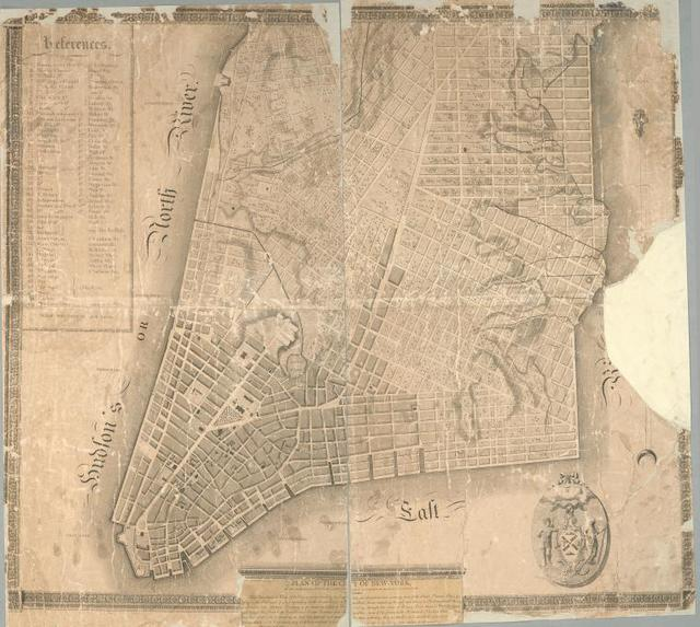 Plan of the city of New-York