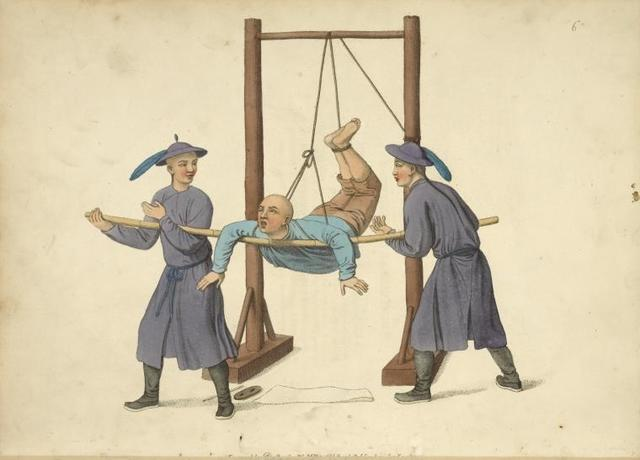 Punishment of the swing.