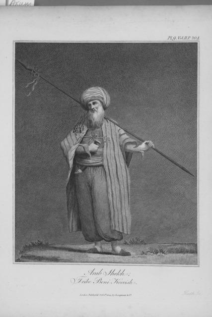 Arab Shekh; Tribe Beni Koreish