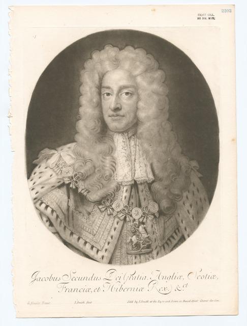 Jacobus Secundus dei gratia Angliae, Scotiae, Franciae, at Hiberniae rex &ct.