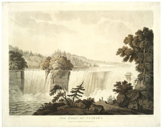 The Falls of Niagara.