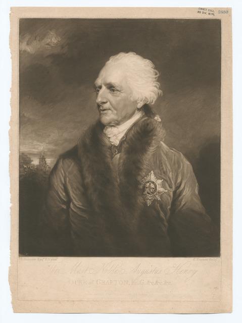 The most noble, Augustus Henry Duke of Grafton.