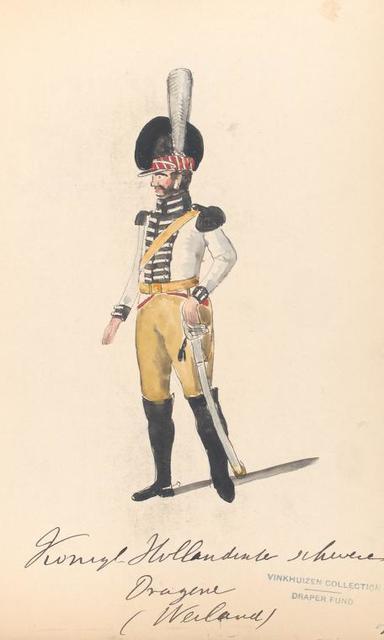 Bataafsche Republiek. Konigl. Hollandsche schwere Dragoner (Weiland). 1806