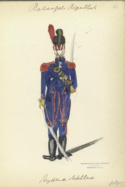 Bataafsche Republiek. Rydende Artillerie. 1805