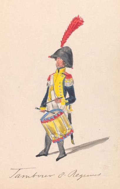 Bataafsche Republiek. Tambour van Regiment. 1806