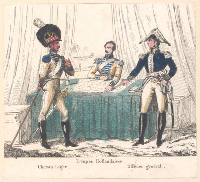 Bataafsche Republiek. Troupes Hollandaises: Chevau Leger, Officier général. 1806