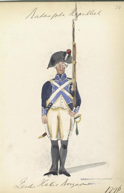 Bataafsche Republiek, Zesde Halve Brigade