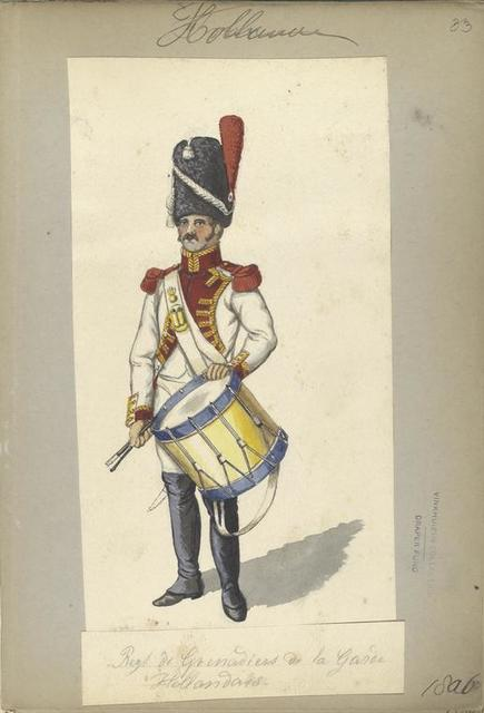 Holland. Regiment de Grenadiers de la Garde Hollandais. 1806