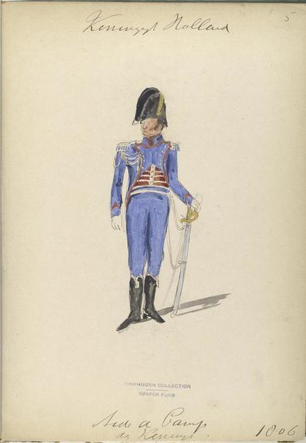 Koninklijk Holland. Aide de Camp der Koning. 1806