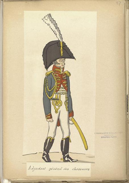 Adjudant général des chasseurs.
