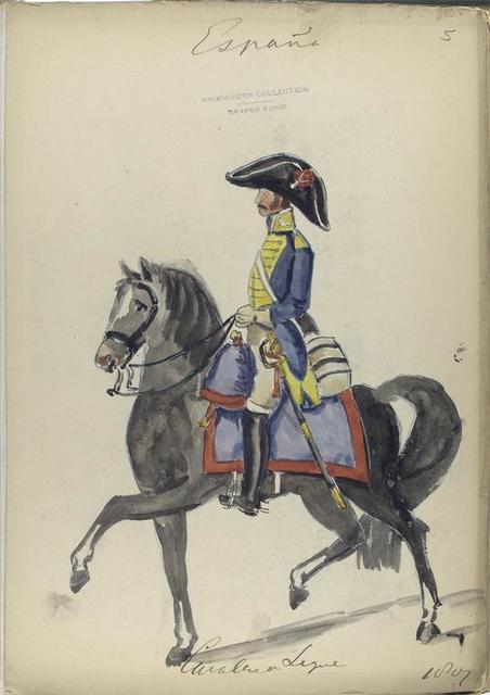 Cavalleria Ligera. 1807