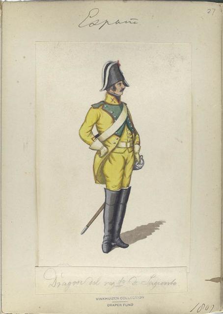 Dragon del reg-to de Sagunto. 1807