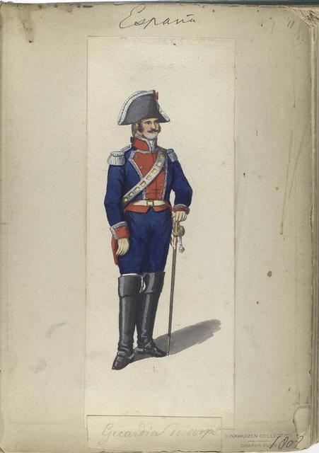 Guardia de corps. 1807