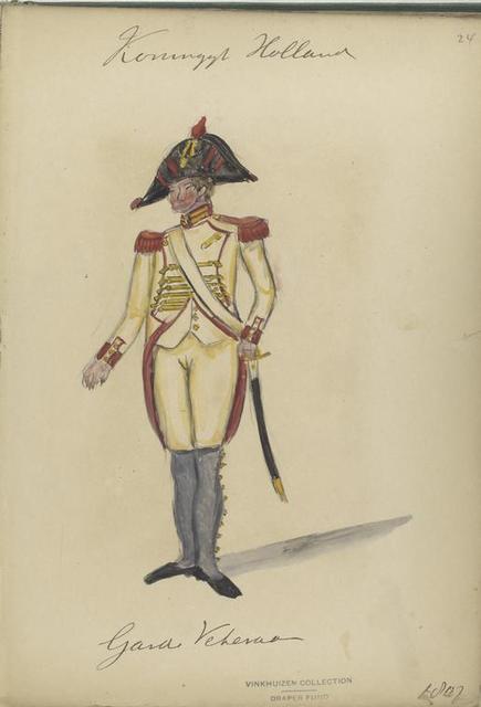 Holland. Garde Veteran. 1807