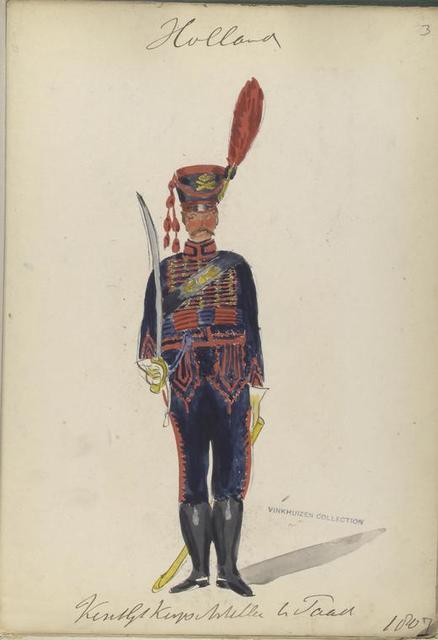 Holland. Koninklijk Korps Artillerie te Paard. 1807