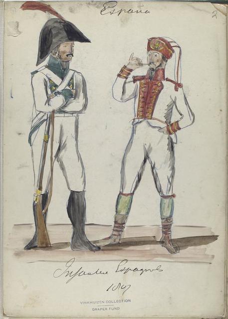 Infanteria Espagnol. 1807