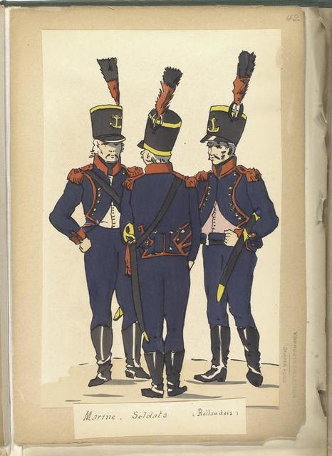 Marine - Soldats (Hollandais).