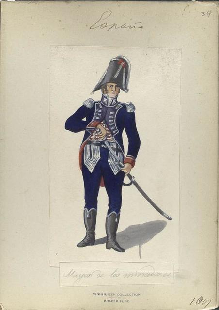 Mayor los minadores. 1807