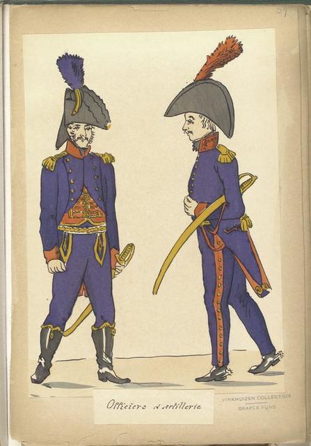 Officiers d'artillerie.