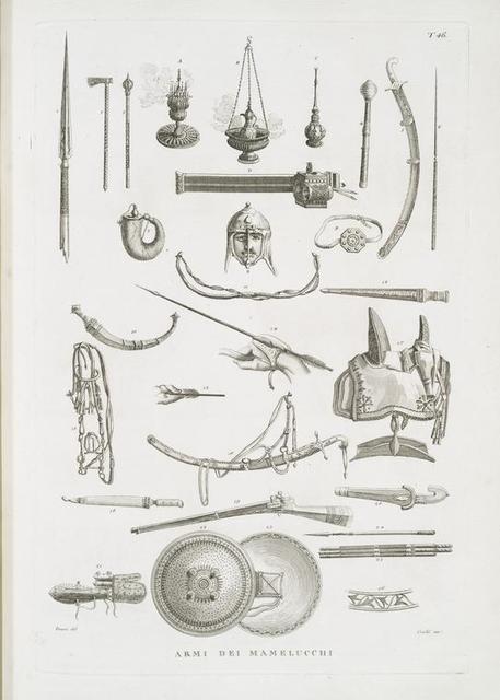 Armi dei Mamelucchi.