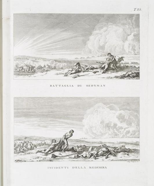 Battaglia di Sedyman; Incidenti della medesima.