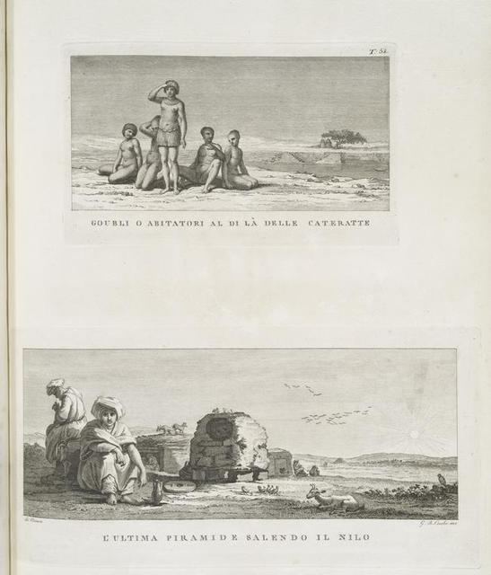 Goubli o abitatori al di la delle cateratte; L'ultima piramide salendo il Nilo.