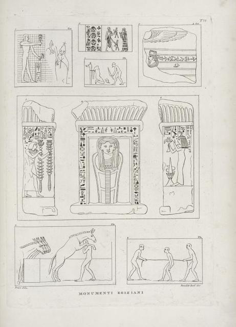 Monumenti Egiziani.