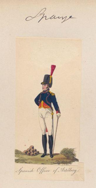 Spanish Officer of Artittery