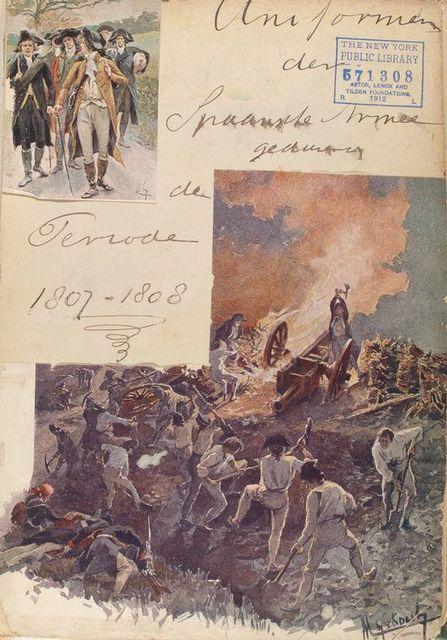 Uniformes der Spanishe Armee geduren[de] de Periode 1807-1808