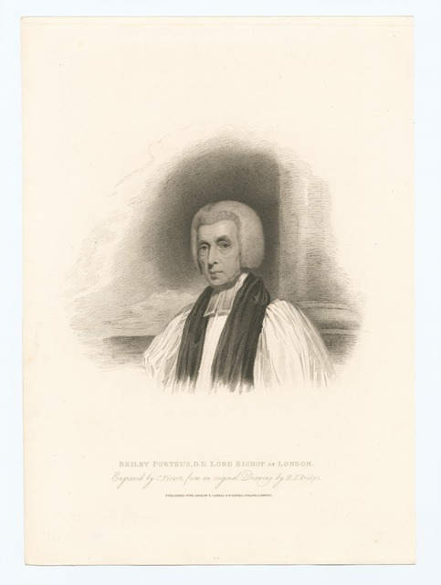 Beilby Porteus, D.D. Lord Bishop of London.