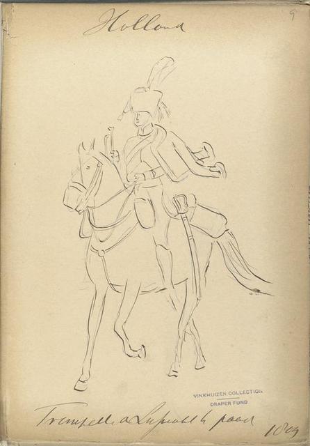 Holland... a lijfwacht te paard.