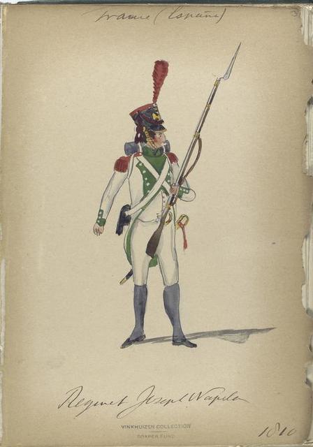 France (España), Regiment Joseph Napoleon 1810