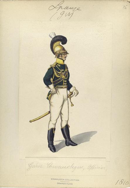 Garde Chevoux'legers Legne Officier
