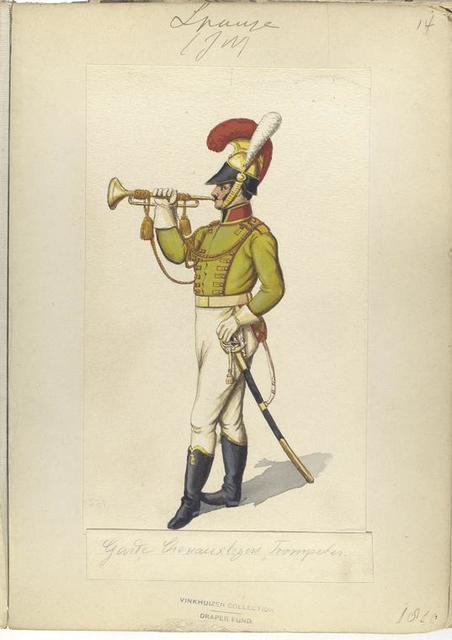 Garde Chevoux'legers  Trompeter