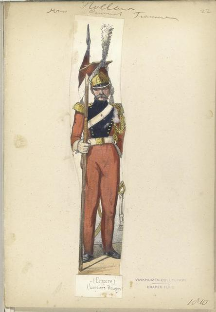 Holland. [...] d... Francais. (Empire). (Lanciers Rouges).