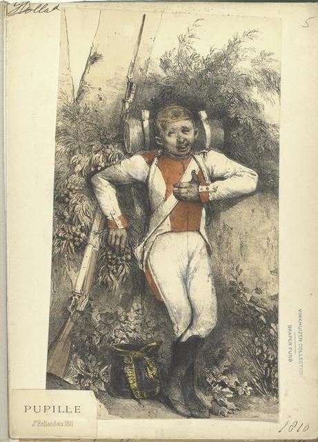 Holland. Pupille. Je. Hollandais 1811.