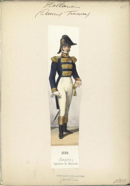 Hollande (Dom... Francais). (Empire). Capitaine de Vaisseau.