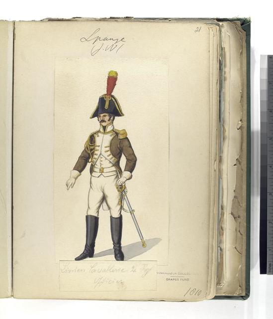 Linien Cavalerie 2. Reg. Officier