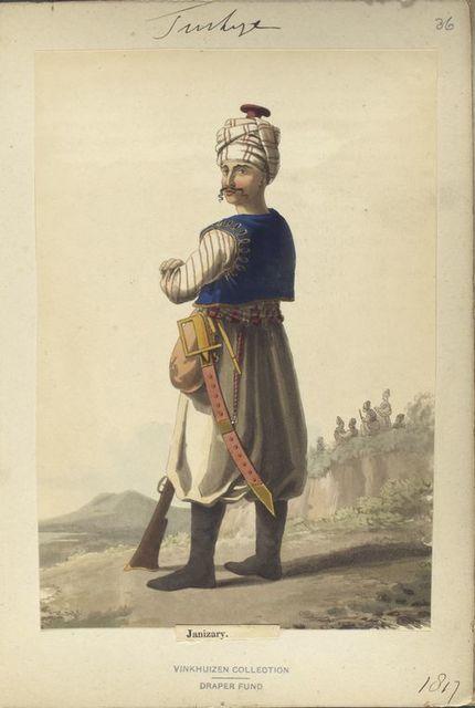 Turkey, 1810-17.