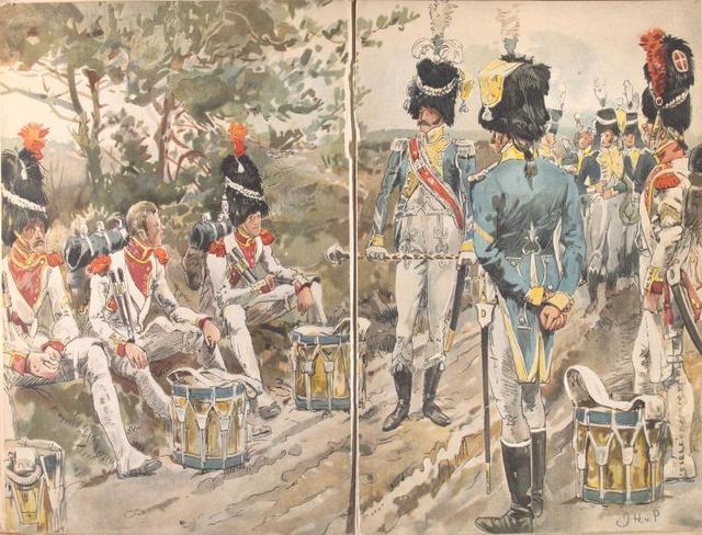 3e Regiment de Grenadiers de la Garde Impériale (Hollanders). 1810-1813.
