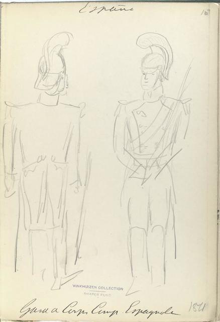 Guardia de Corps Camp. [?] Espagnole. 1811