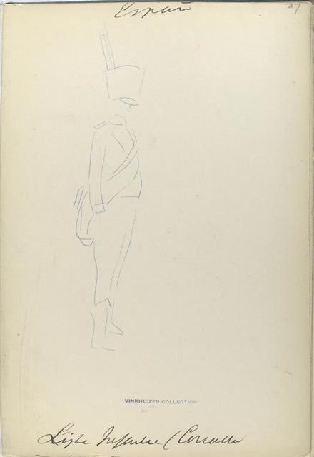Ligera Infanteria (Castilla). 1811