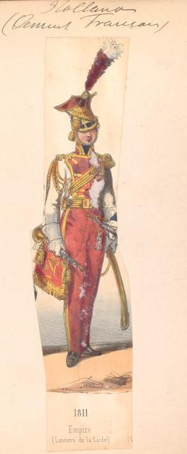Netherlands, 1811. Empire (Lanciers de la Garde).