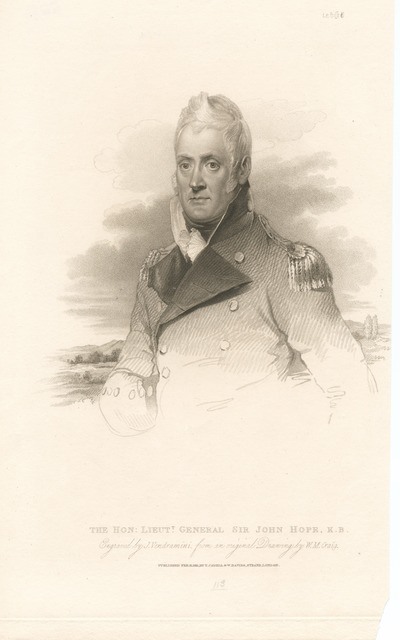 The Hon. Lieutt. General Sir John Hope, K.B.