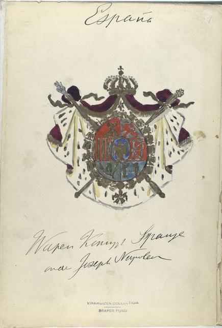 Title page] España. [ Waren K... Spanje und Joseph Napoleon ]